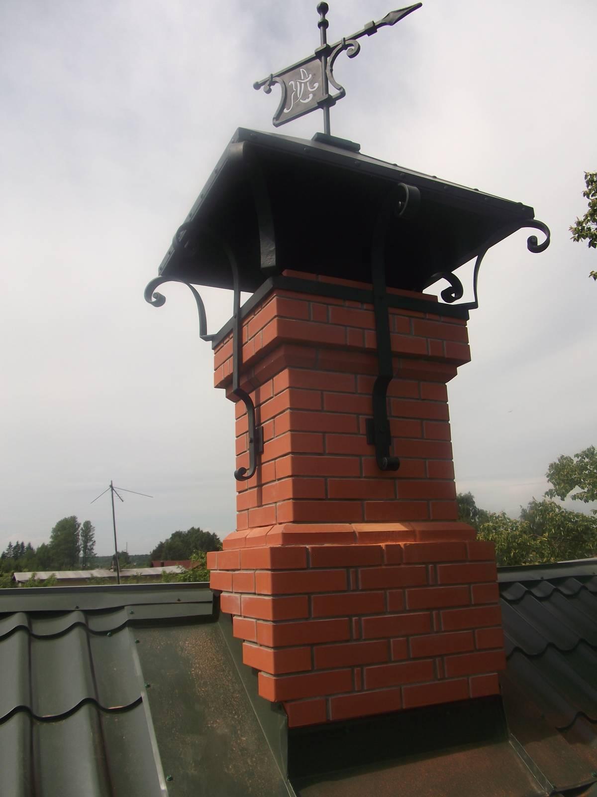 Ремонт дымохода из кирпича своими руками
