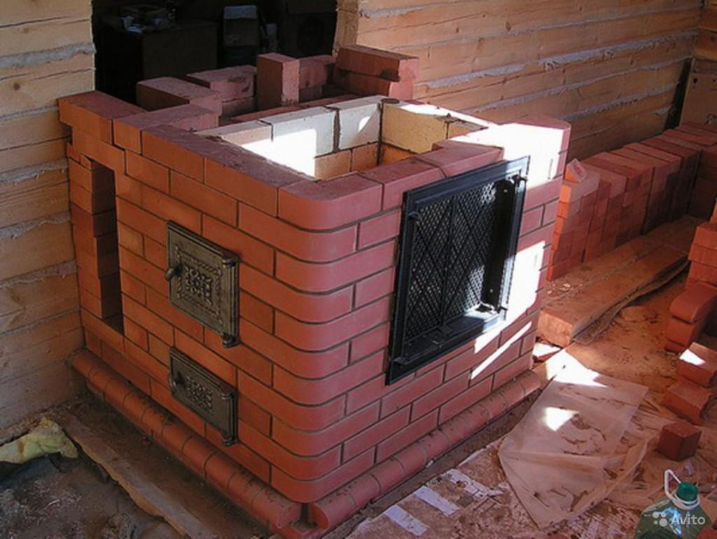 Как построить кирпичную баню своими руками